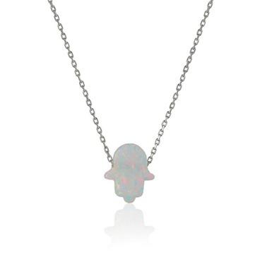 Kolye-Söğütlü Silver